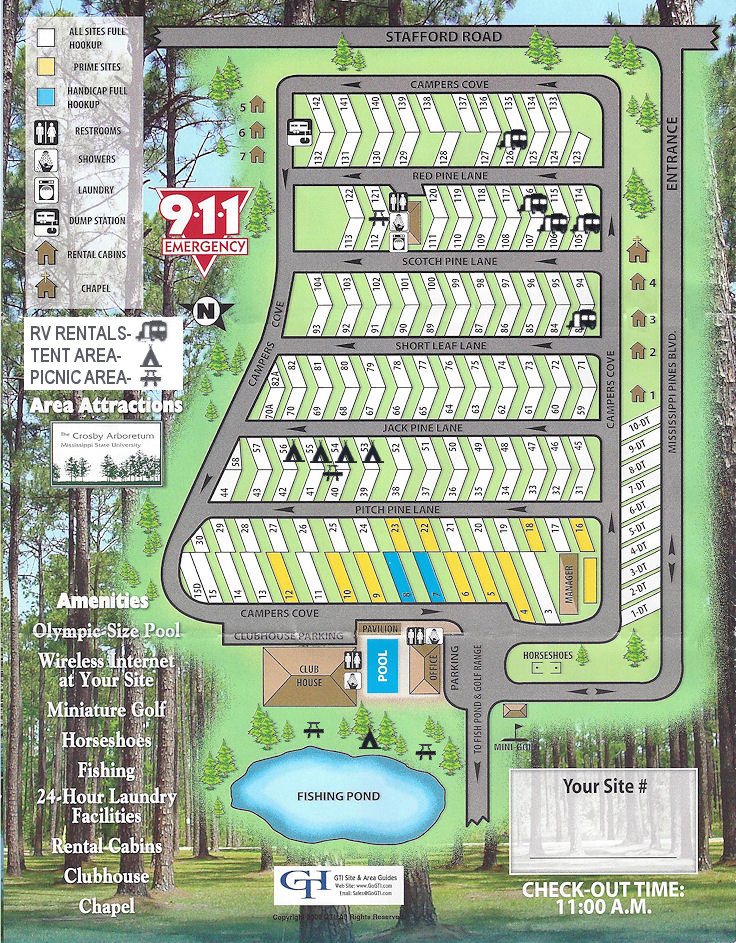 Sun Roamers RV Resort Park Map; Picayune, Mississippi (MS) on al map, mn map, or map, mo map, pa map, sc map, messrs map, ak map, bshs map, ra map, mr map, aig map, tn map, nc map, dhr map, la map, gh map, cpt map, mississippi county map, adm map,